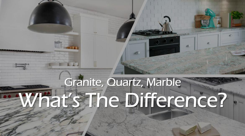 Granite Quartz Marble What S The