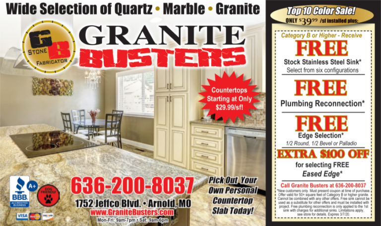 Specials Granite Busters